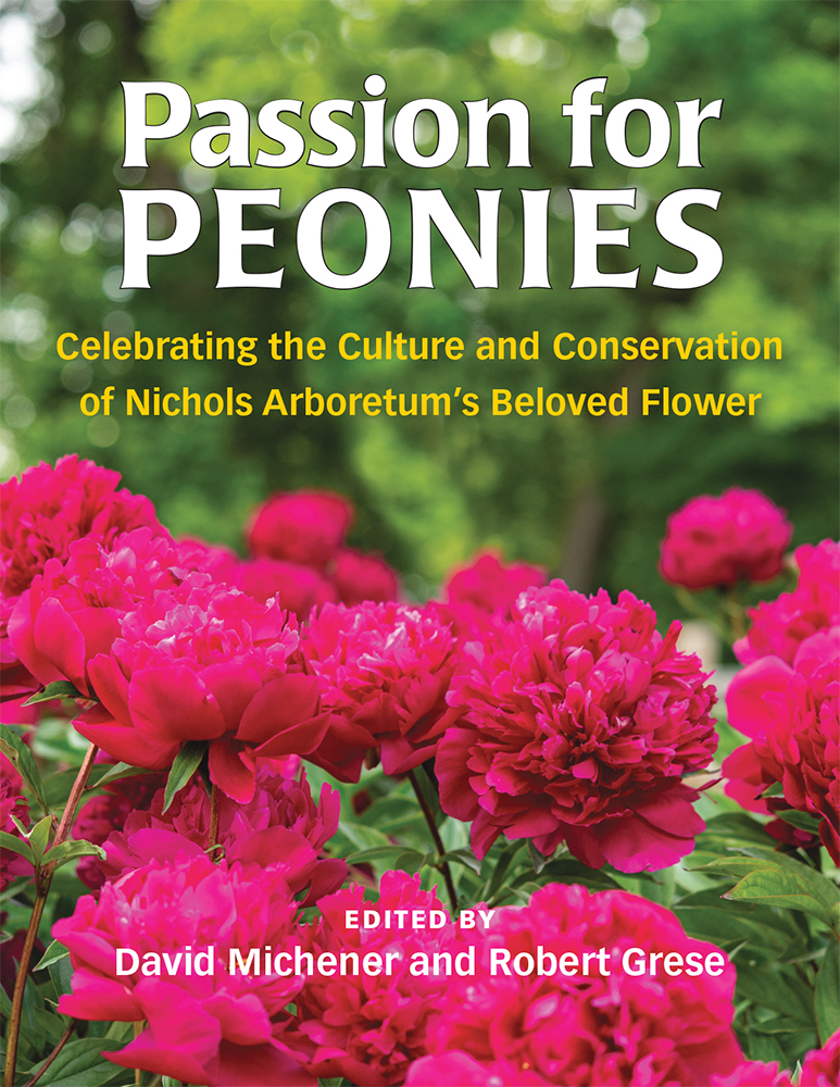 Passion for peonies book cover